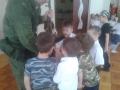 Воины-пограничники в гостях у детей